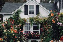 home {outdoor}. / outdoor home decor.