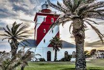 Faros fascinantes /// Fantastic lighthouses / En este tablero vamos a hacer un recorrido por la historia de los faros más bonitos del mundo. #faros #faro #lighthouse #viajes #travel #starlight #lamp