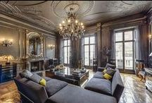 Living Spaces / Luxurious rooms and decor ideas.