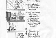 Storyboarding, cinema...