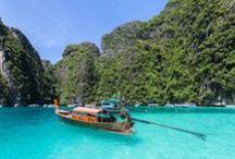Tailandia // Thailand // Thailandia / Recorremos #Tailandia de Norte a Sur y conoceremos sus maravillosas playas.