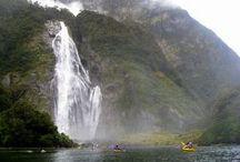 Nueva Zelanda /// New Zealand / En Nueva Zelanda la naturaleza se conserva y se disfruta. Sus ciudades están entre las de mayor calidad de vida del mundo, y sus parque nacionales, resguardan algunos de los paisajes más bellos del planeta.