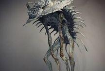 Alterra mood board -- creatures & animals / Inspirational images for fantastic and mundane creatures.