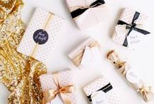 cute packaging and stationery