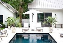 Exteriors and Outdoor Spaces / by Jenny Mac