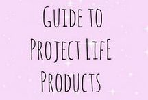 Project Life / Find a wide selection of inspiring Project Life layouts, products, tips and more!