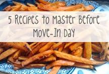 Dorm-Approved Meals / Easy recipes that don't require an oven or any fancy equipment