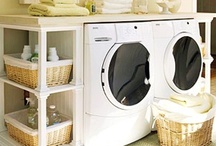 Laundry Rooms / by Brandy