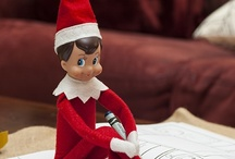 Elf on shelf / by Shelia Coogler Muse