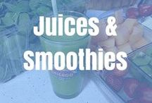 Juices and Smoothies! / Tons of delicious, vitamin-packed smoothies and juices for the healthy you.