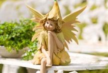 Garden Fairies by Plow & Hearth / Garden magic! Elves, fairies, gnomes and all things magical for your garden. Find your inner fairy and discover an enchanted worlds of wonder. / by Plow & Hearth