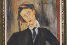 Study on Modigliani