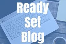 Blogging / Think entrepreneurial. How to start a business such as a blog to add income to your home.