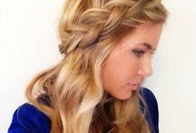 hairstyles to try / by Kaitlin