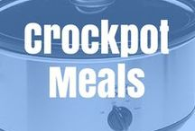 Crock Pot Meals / Yummy Fast meals cooking all day while I work.