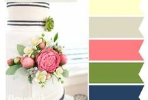 Wedding :: Color Inspiration / Find the inspiration you need to create the colorful wedding you deserve!
