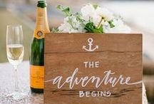 Wedding :: Signs & Sayings / The perfect sign can bring a smile to your guests' faces...be inspired!