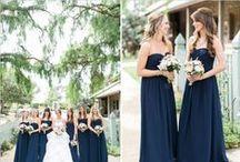 Wedding :: Navy / Navy wedding love.