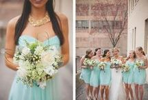 Wedding :: Aqua, Mint, Seafoam, Teal / Aqua {and all those other close shades} wedding inspiration