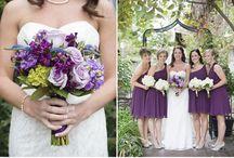 Wedding :: Purple / Perfect purple themed wedding inspiration