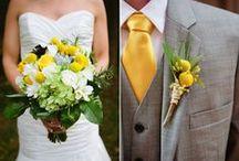 Wedding :: Yellow / Yellow themed inspiration for your wedding