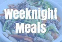Weeknight Meals / Fast, healthy and delicious meals to make on work nights