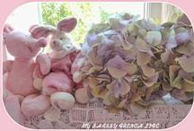 SHABBY FLOWERS AND DIY  / by ✿ Joëlle Quelenn ✿