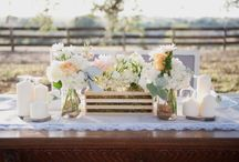#HappilyEver / A BOHO themed wedding. Black, White, Ivory, Champagne, and Glittery Gold colors with a Moroccan spin in décor.  / by Ashlee Ostlund
