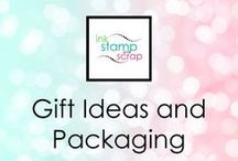 Gift Ideas and Packaging / Let my gift ideas and packaging inspire you to make your own.  These are only a few of the DIY ideas you can find at http://www.inkstampandscrap.com or get tips and tutorials sent right to your inbox by going to http://www.inkstampandscrap.com/pin