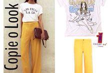 Tees + ? = <3 / Descubra novas maneiras de vestir sua camiseta Color Me / Discover new ways to wear your Color Me tee