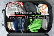Travel & Packing Tips & Tricks / Links for travel packing tips