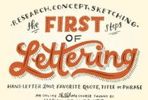 Gorgeous Handwriting & Fonts / A selection of beautiful fonts, mainly scripts and handwriting - some to gather some to just admire.