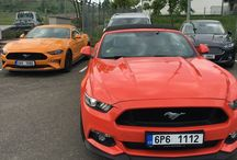 Orange fury VS Competition orange Mustang