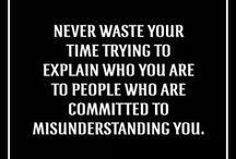 Words / Words of wisdom ;)