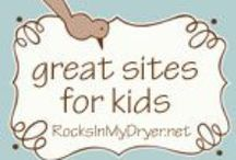 "Websites for Kids / Help your kids get out of their ""I'm bored"" slump with some of these cool websites!"