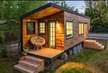 Tiny House, Big Ideas / This is my plan for the future. Land, and several tiny houses, for me and my family and friends. Gonna do it.