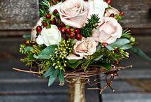 Red + Winter Weddings / by Rachel Stankevich