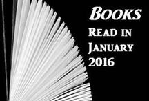 Books Read in 2016 / A compilation of books I've read in 2016