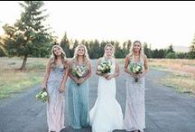 Bridesmaids / Your bridesmaids are a huge part of your wedding day! Follow this board fora ll the bridesmaid inspiration you'll need while planning your big day.
