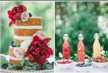 Wedding Cakes + Desserts / Dessert table ideas, wedding cakes and food for celebrations!