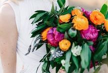 Bouquets / Simple, rustic, romantic or elegant, this is the board of pretty bouquets for brides of all styles!