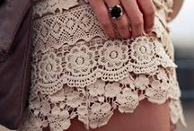 Lace / by Rachel {Apple Brides}