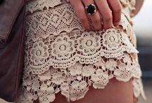 Lace / by Rachel {Apple Brides}