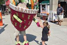 The Salad Guy a.k.a. Caesah! / Adventures of Sebastians's Salad Guy, Caesah, around Boston
