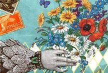 'BLOSSOM' Wenskaarten collectie KendieKaart by MOK STUDIO / Wenskaarten - Greeting cards