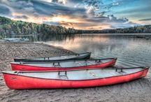 """Canoe ❤ / """"A small narrow boat, typically human-powered"""""""