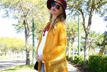 Chic Pregnant Style