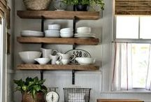 Home-Kitchen/Dining Room / Inspiration for a beautiful and functional kitchen and dining room.
