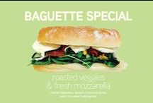 Promotions / Seasonal Salads and Sandwiches, promotional items, special deals!