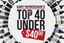 Gary Vaynerchuk's Top 40 Under 40 / There are some absolutely outstanding values in this group, so whether you're looking for the perfect gift, or stocking up on a couple cases for the holidays, you seriously can't go wrong here. / by Wine Library